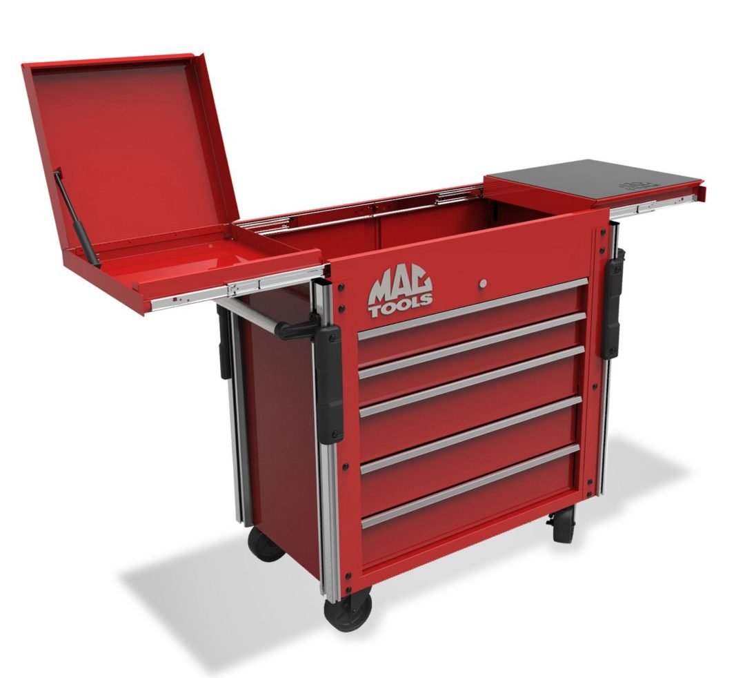 Mac Tools' Utility Cart Expands With Techs' Needs