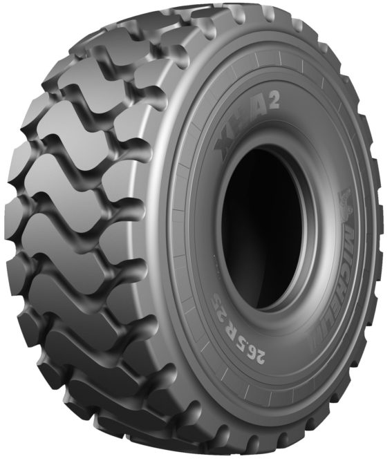 Magazine singles out two Michelin OTR tires