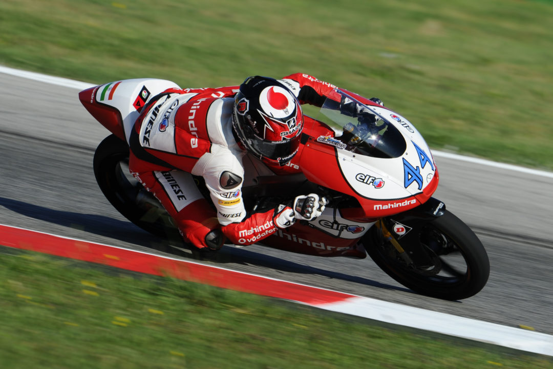 Mahindra fights for top five in fierce race