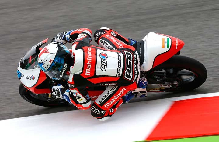 Mahindra's Miguel inches from podium in superb Mugello GP