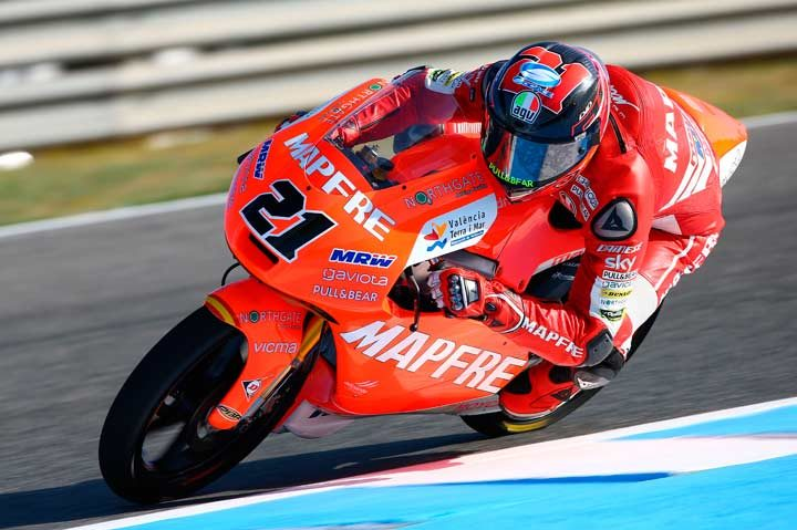 Mahindra's Pecco surges from 16th to seventh in Spain