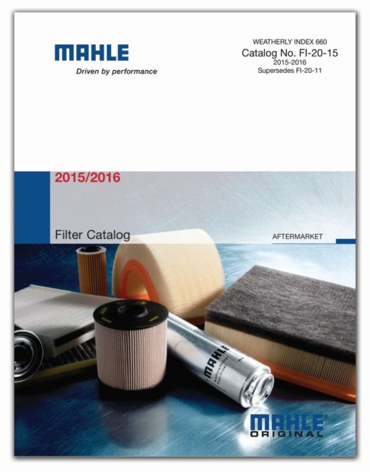 Mahle: More than 1,200 parts in filter catalog
