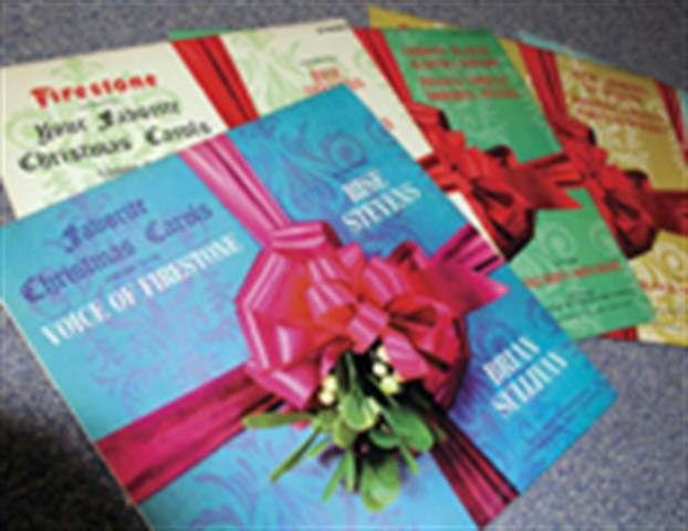 'Making spirits bright:' Christmas albums from Goodyear and Firestone filled homes with holiday cheer