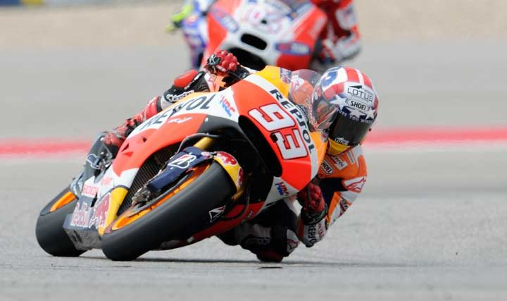 Marquez completes COTA hat-trick at the Grand Prix of the Americas