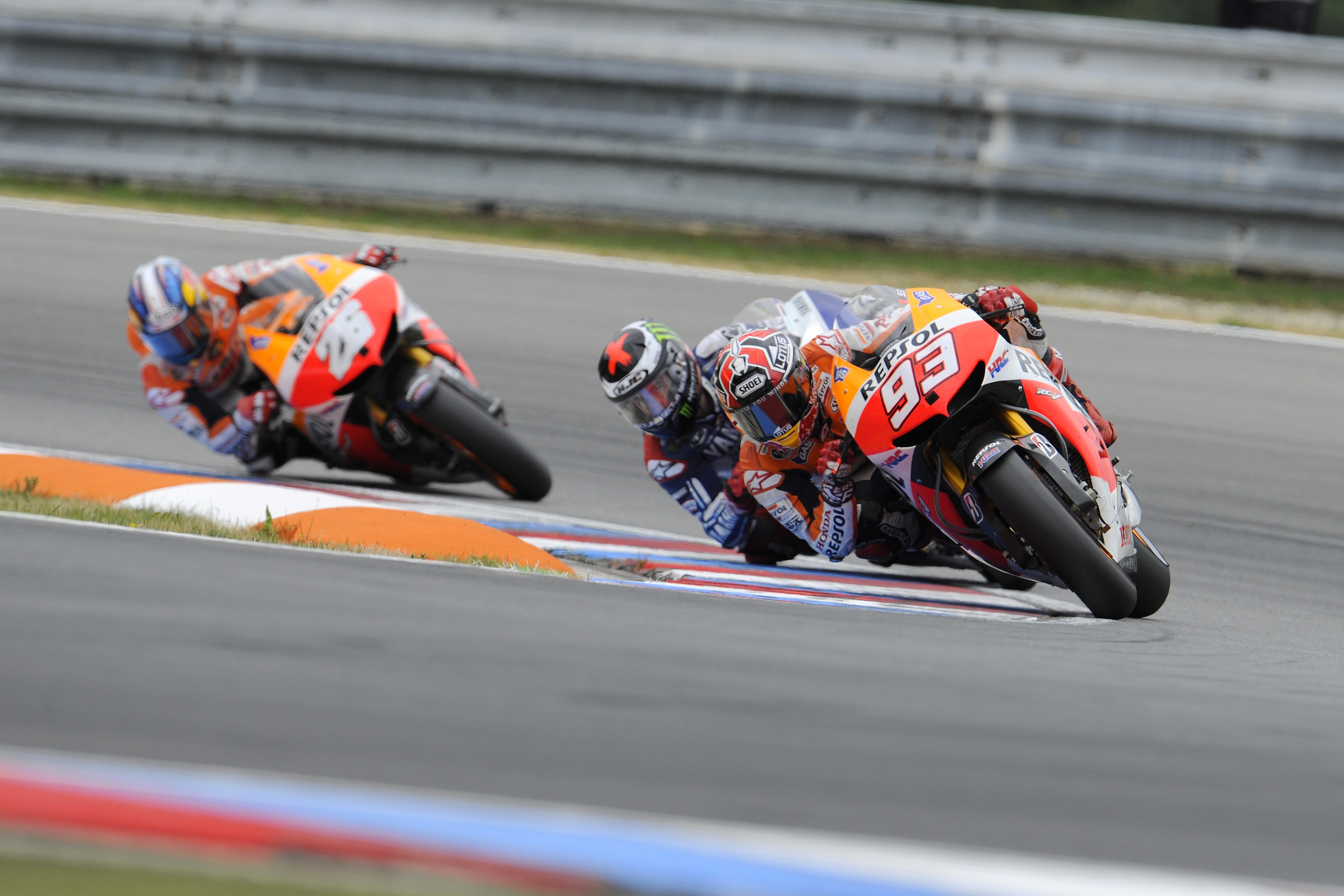 Marquez continues record-breaking run in Czech Republic