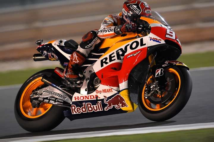 Marquez leads tightly packed field in Qatar Free Practice