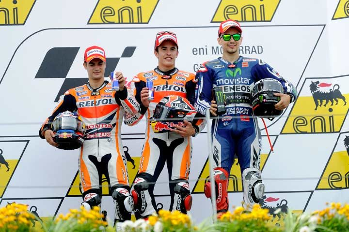 Marquez maintains his momentum with stunning Sachsenring victory