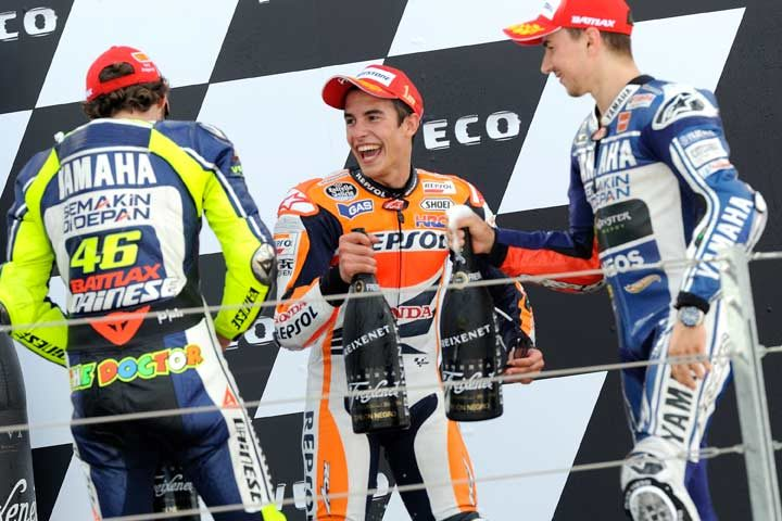 Marquez seizes sixth victory of the year at Aragon