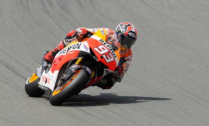 Marquez takes Sachsenring victory