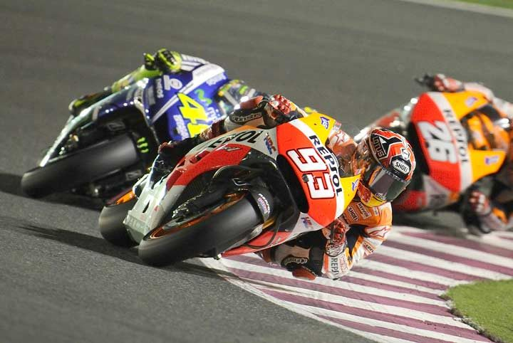 Marquez takes victory in season opener in Qatar