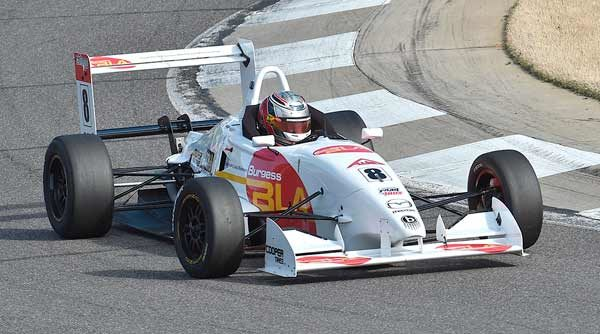 Martin Fastest As USF2000 Teams Complete Two-Day Spring Training