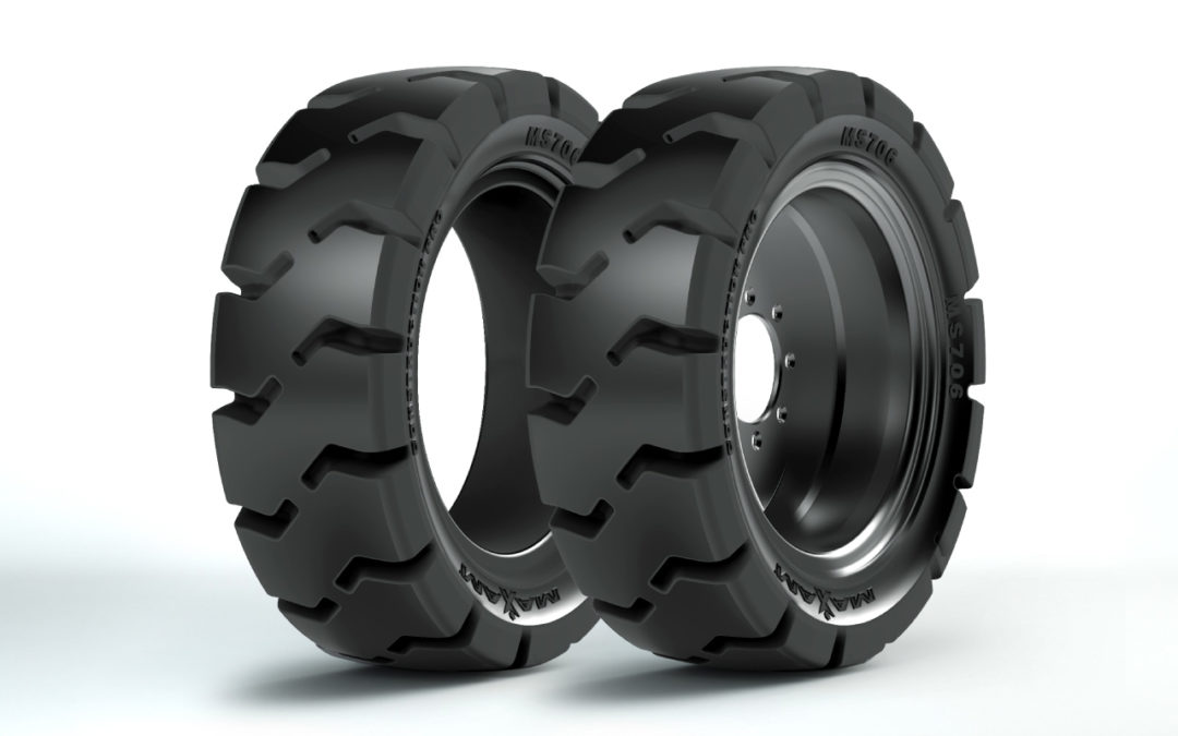 Maxam Has a New Premium Solid Skid Tire for Harsh Working Applications