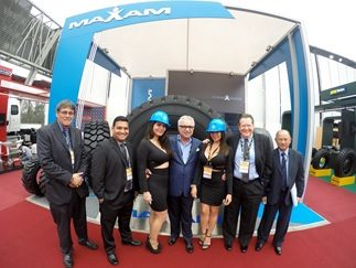 Maxam Tire Makes a Big Splash in Peru