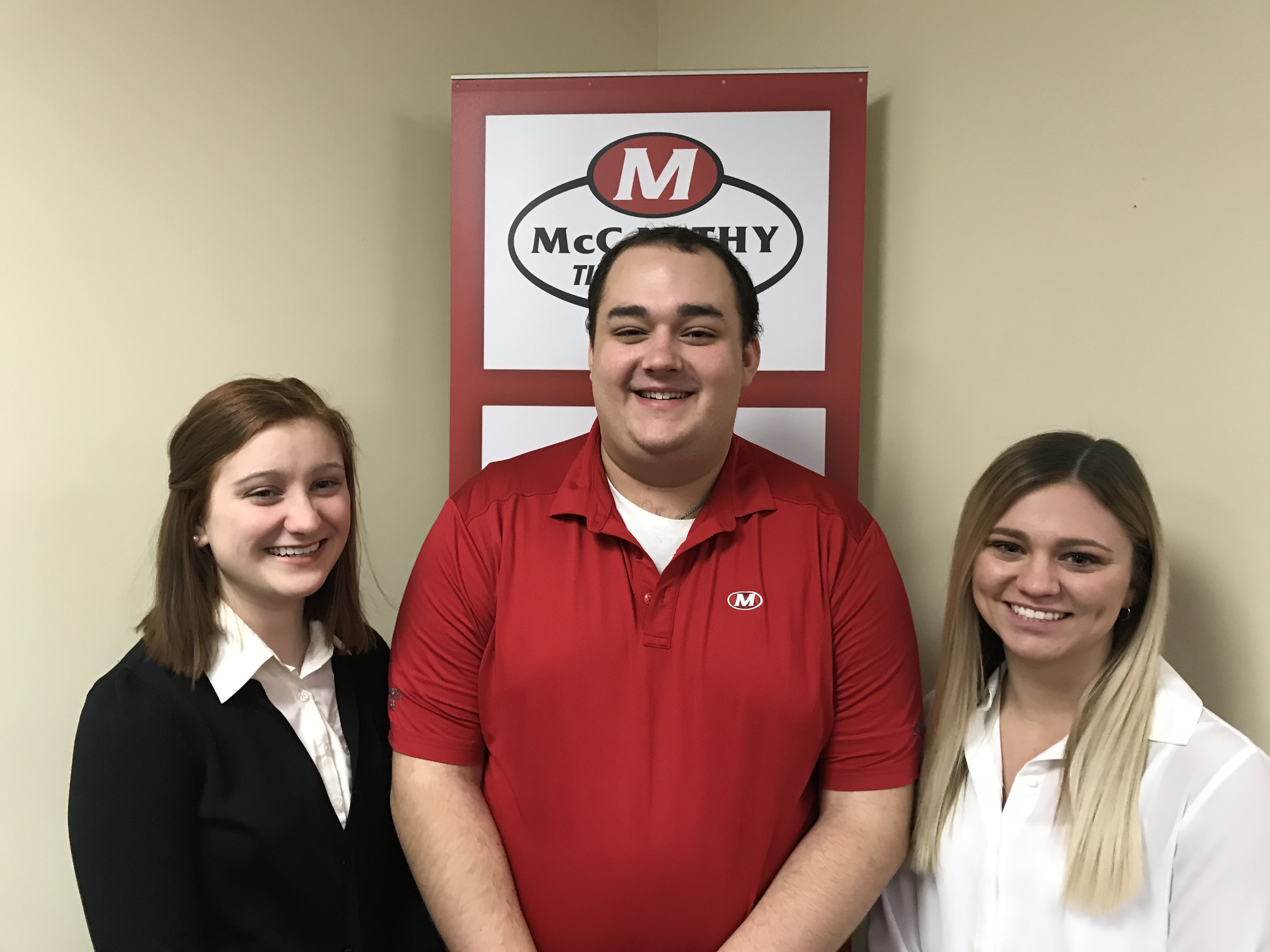 McCarthy Gives Students a Glimpse of the Tire Industry With Internships
