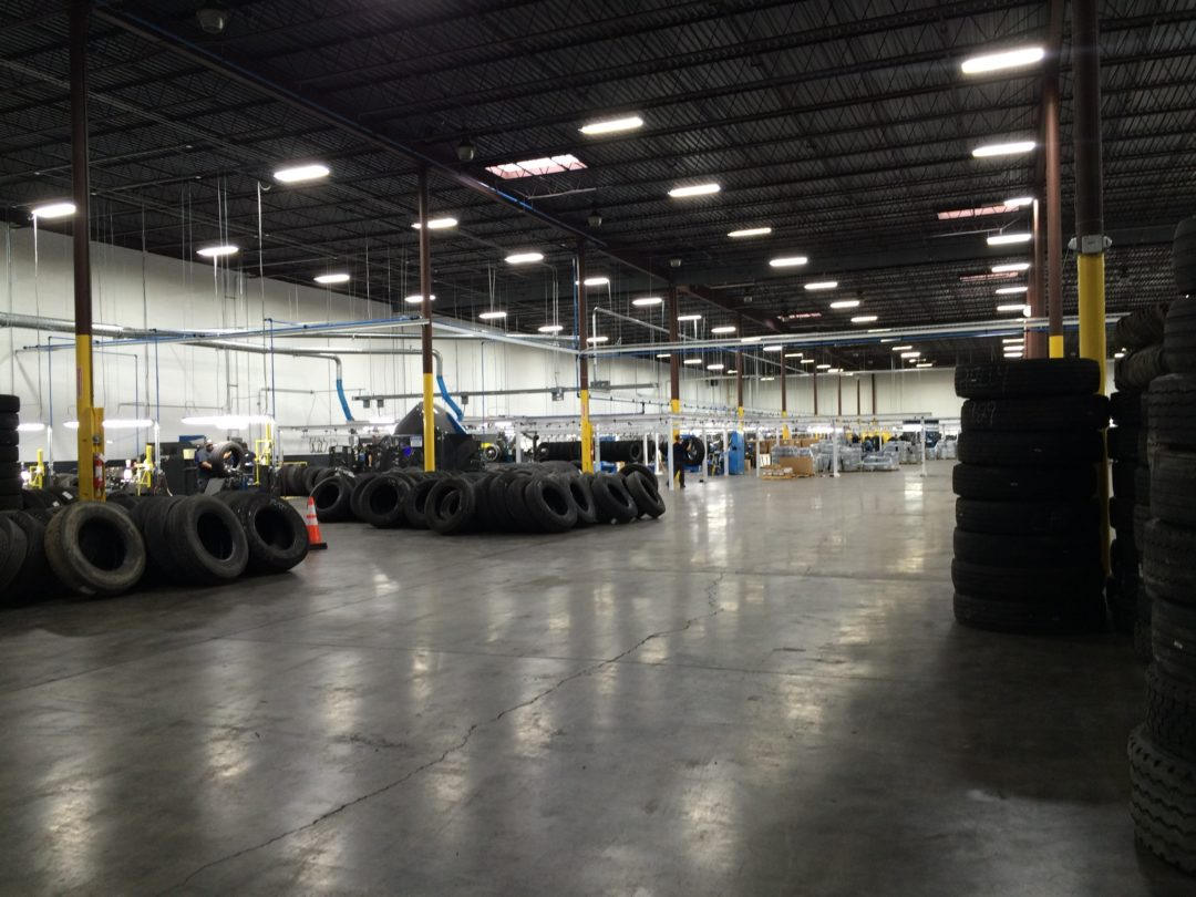 McCarthy Tire Settles In to Its New Retread Plant