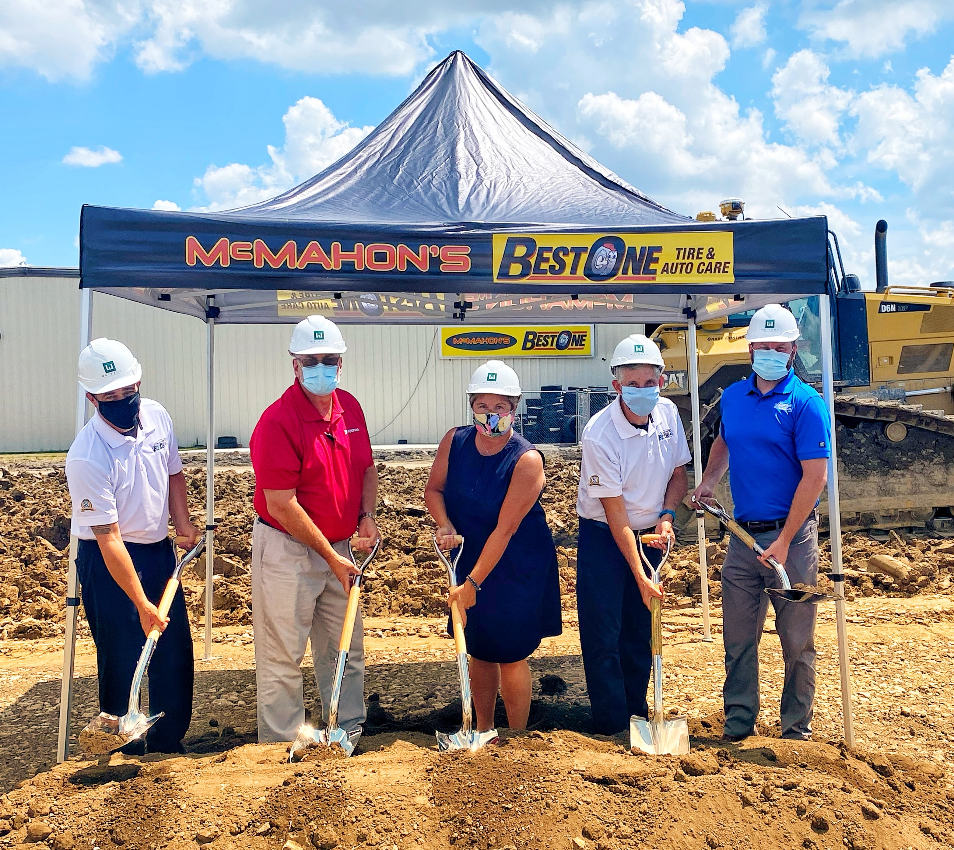 McMahon's Best-One Breaks Ground on New Store