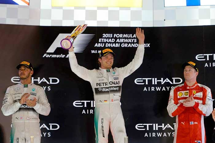 Mercedes Driver Nico Rosberg Takes Third Consecutive Win
