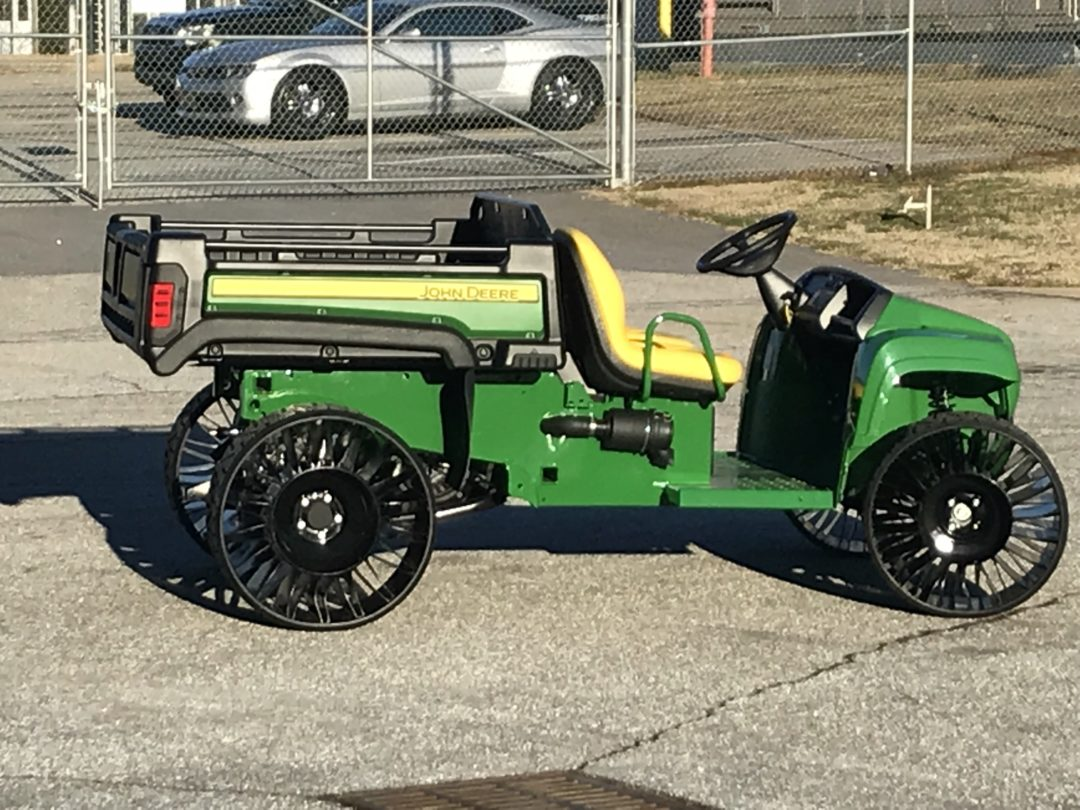 Michelin Adds 5 Tweel Fitments for Mowers and UTVs