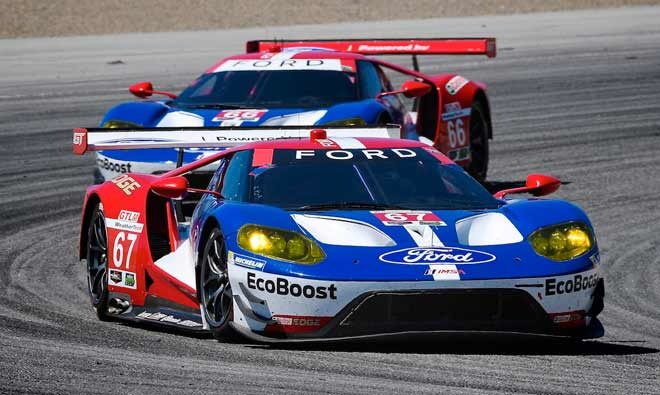 Michelin And Ford GT Team Take First Victory In Monterey