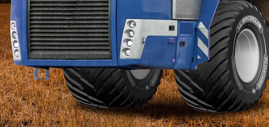 Michelin FloatXBib: a Tire for Self-Propelled Spreaders