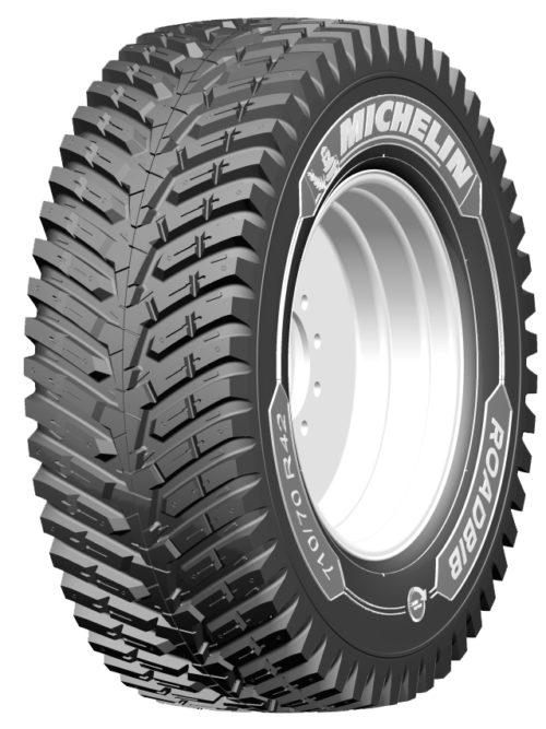 Michelin Has a New Tractor Tire for Heavy Road Use