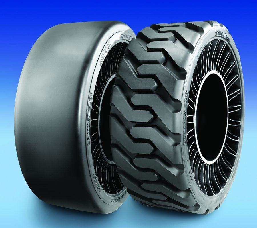 Michelin has Two Tweel Tread Patterns for Skid Steers and OE Mower Fitment