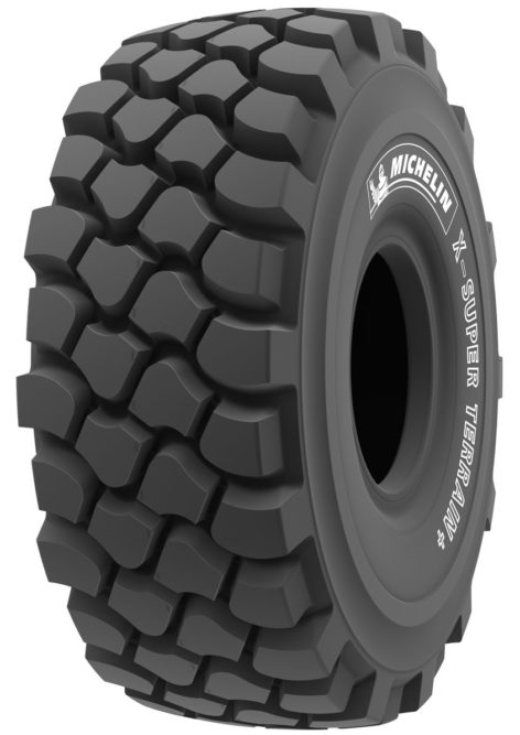 Michelin Introduces 55-Ton Haulage Tire as OE on the Volvo A60H