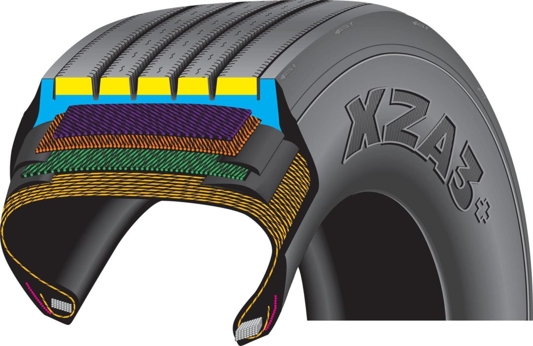 Michelin introduces next generation steer tire