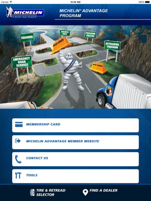 Michelin offers app for smaller fleets