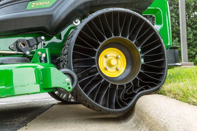Michelin's Airless Turf Tire Receives Design Award
