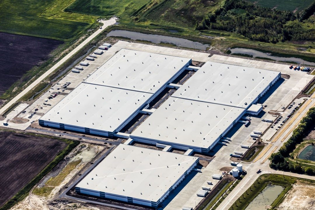 Michelin's Midwest Distribution Center is LEED Certified