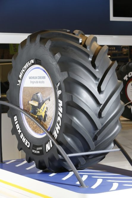 Michelin's New Farm Tire Is Ready for the Heavy Equipment