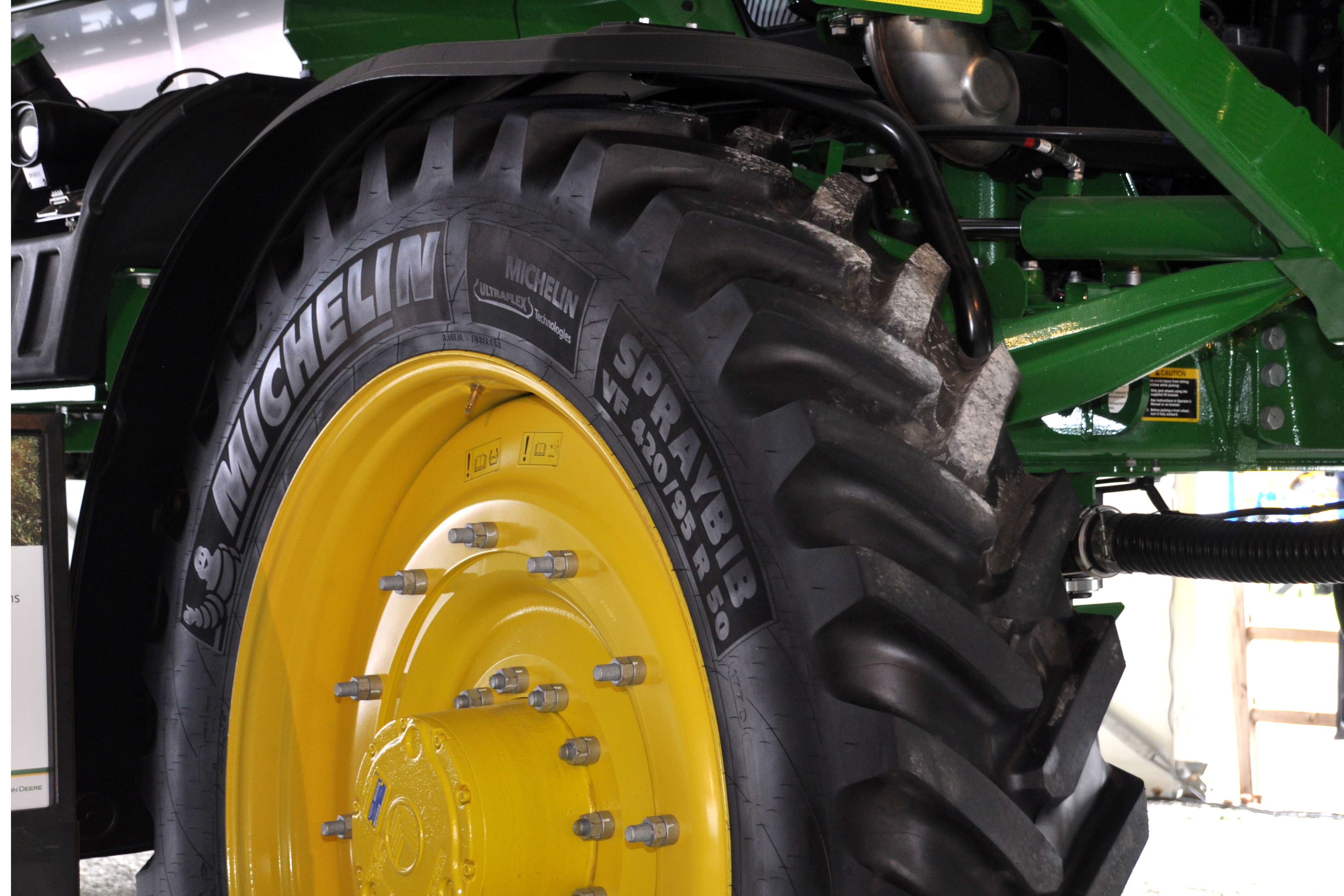Michelin unveils tire for high-clearance sprayers