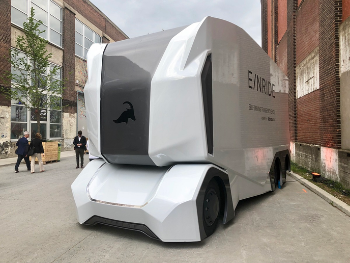 Michelin Will Deploy an Electric Autonomous Truck