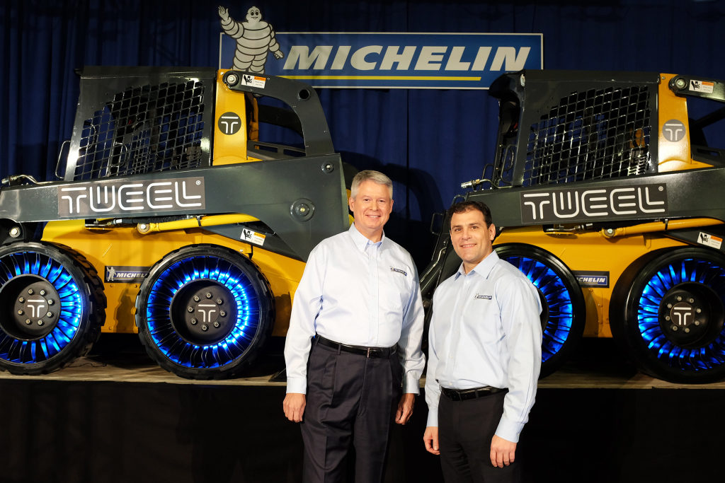 Michelin will make Tweel for real in the U.S.