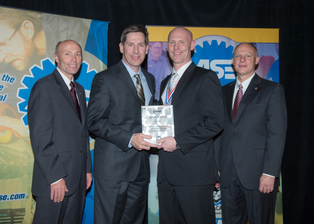 Midas/ASE Tech of the Year named