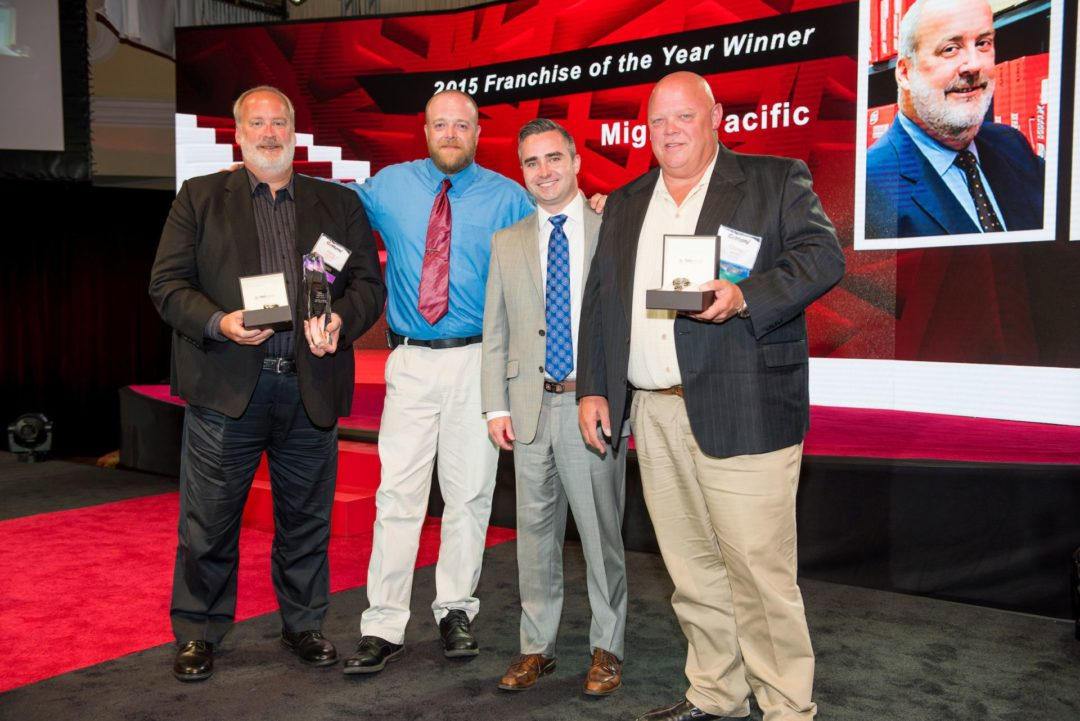 Mighty Auto Parts Honors Franchise of the Year