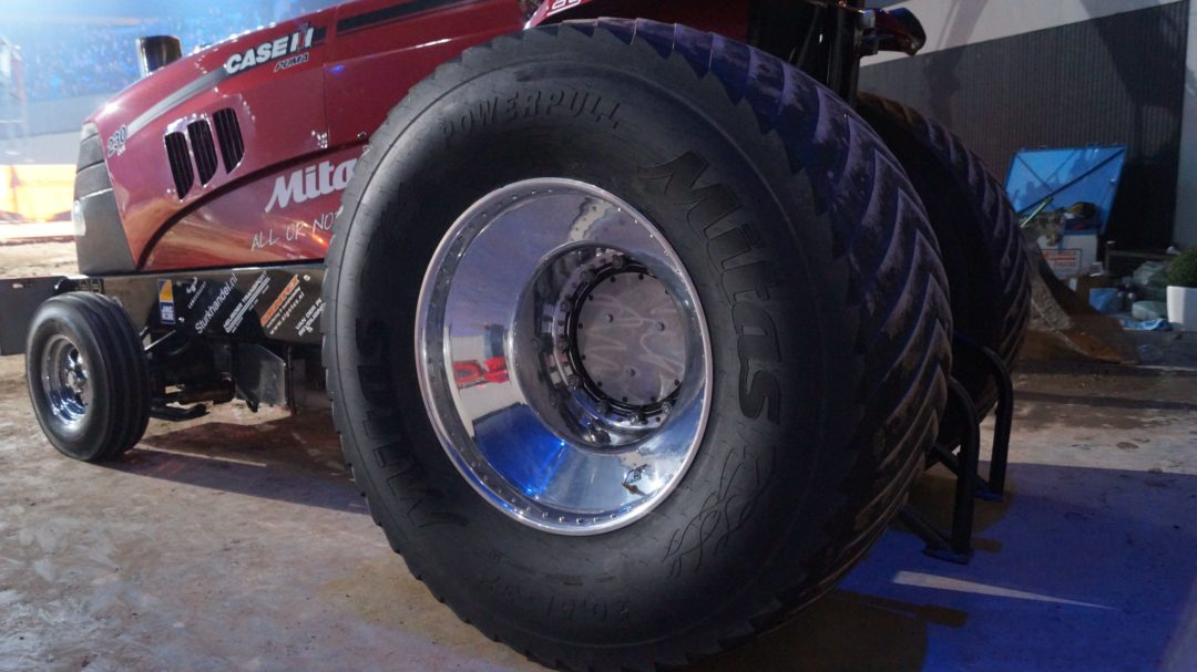 Mitas Brings Tractor Pull Tire to North America