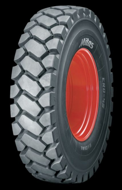 Mitas to Unveil First of 4 New Earthmover Tire Tread Patterns