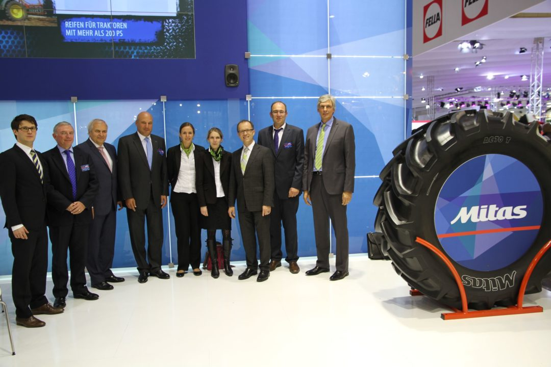 Mitas will supply combine, tractor tires to Claas
