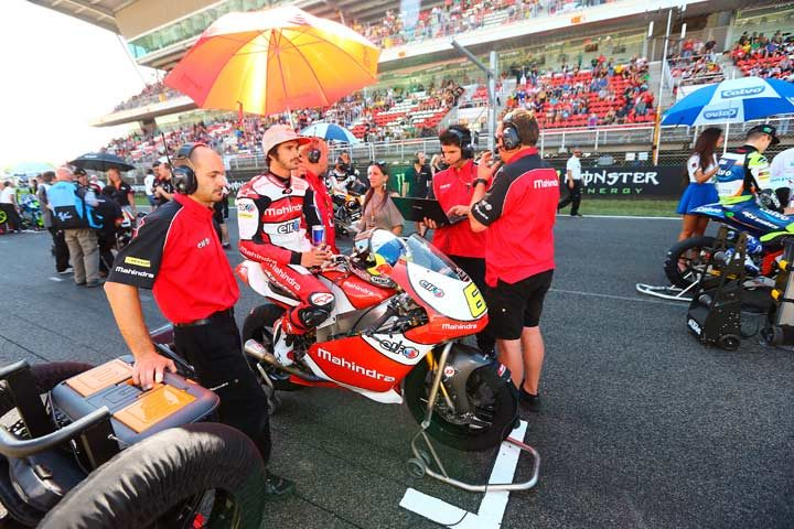 Mixed day but more points for Mahindra in Spain