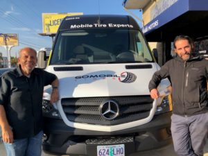 Mobile Tire Installers See Increase in Demand