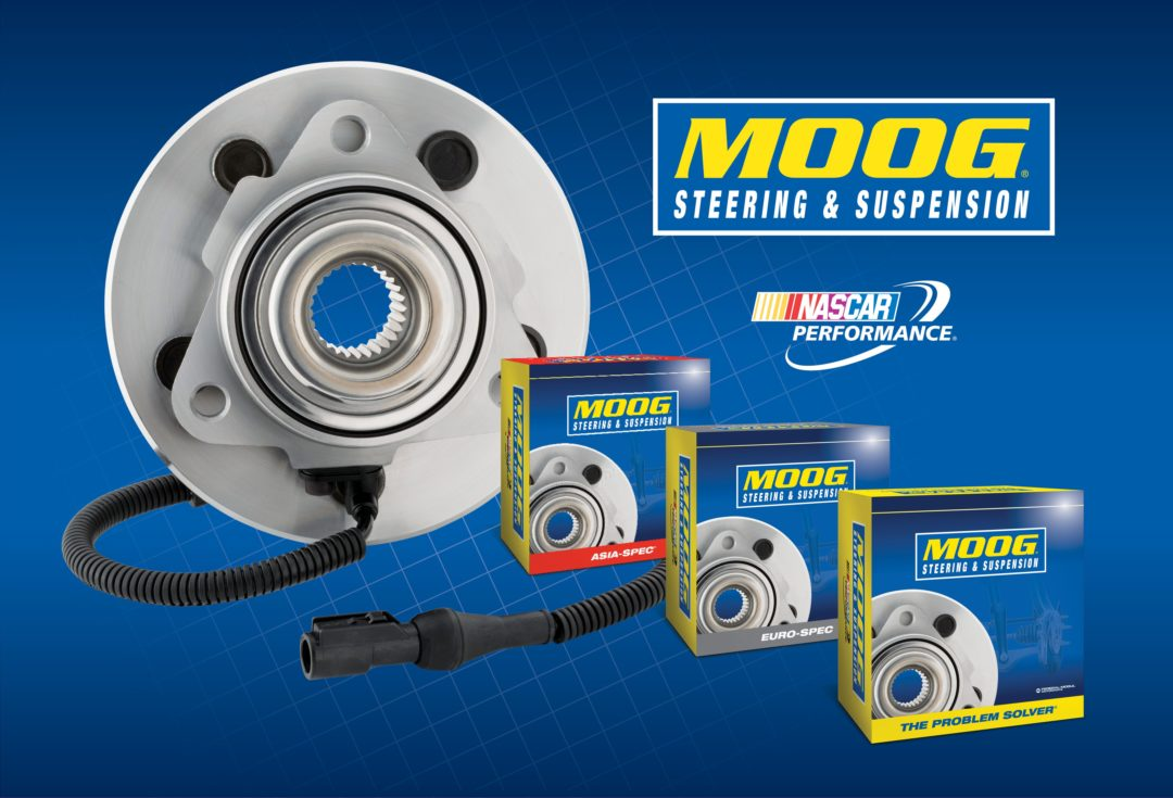 MOOG Steering and Suspension line expands