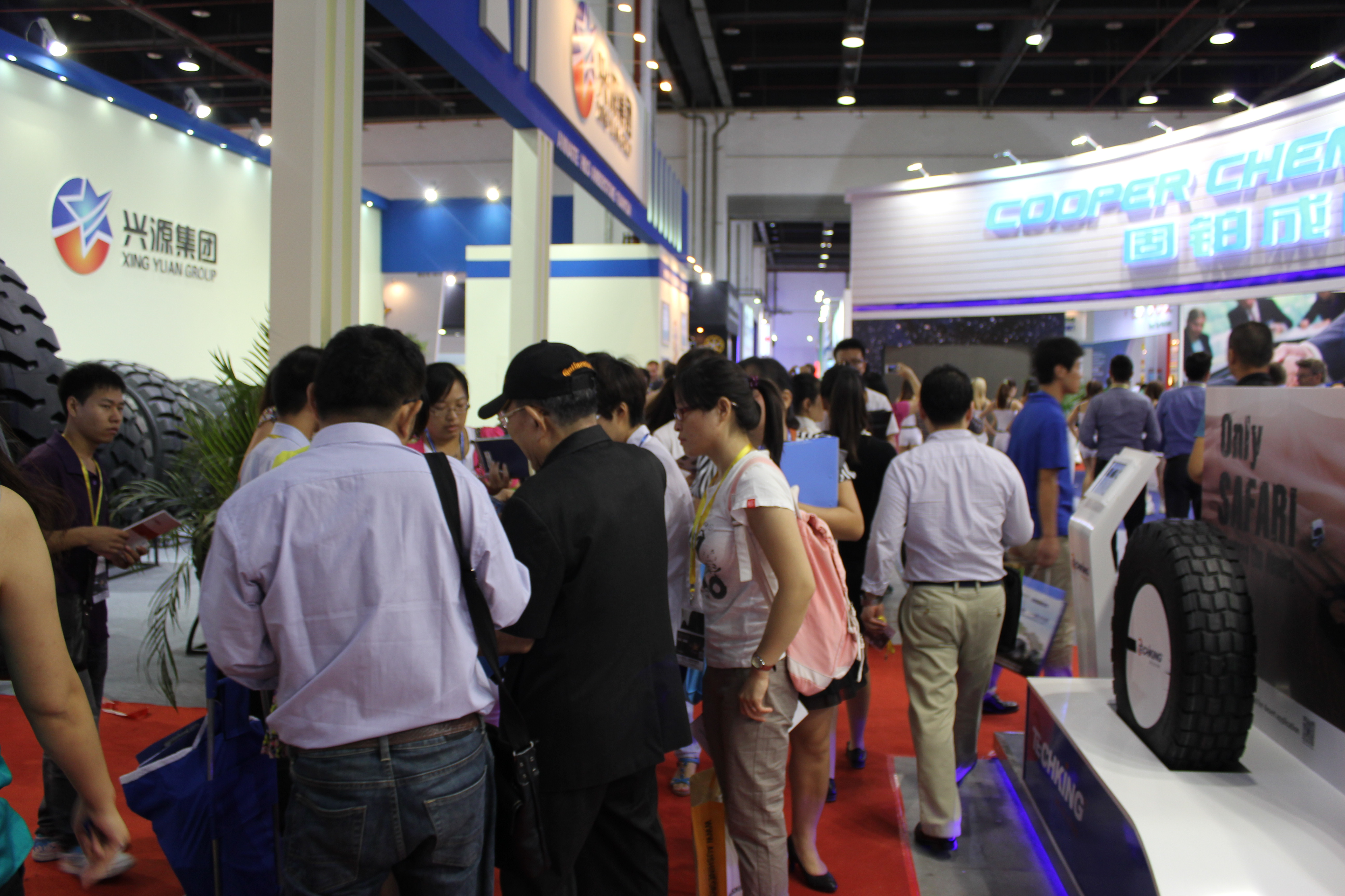 More than 7,000 attend China tire show