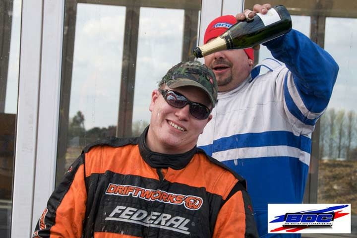 Morrison wins first event of the British Drift Championship on Federal