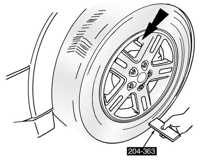 Mountaineer TPMS is not affected by wheel and tire rotation
