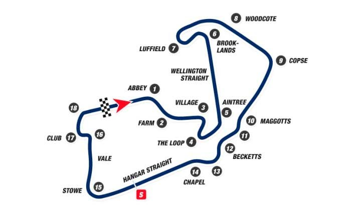 Movistar Yamaha prepare for action in Silverstone