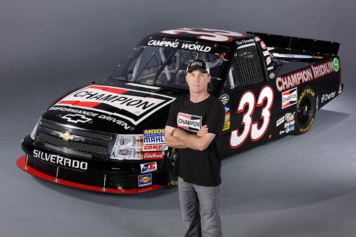 NASCAR Sprint Cup Standout Kevin Harvick to be Spokesperson for Champion Brand
