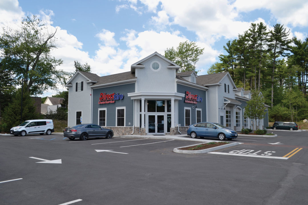 New and Improved: Barry Steinberg's Direct Tire Store in Medway, Mass.