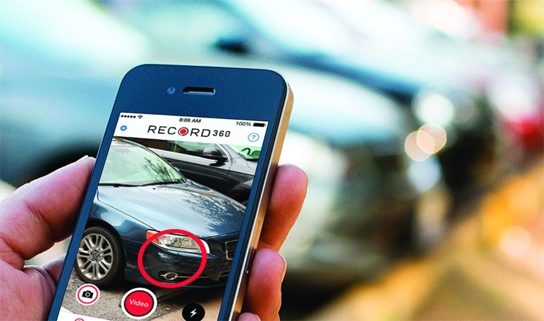 New App Documents Vehicle Condition
